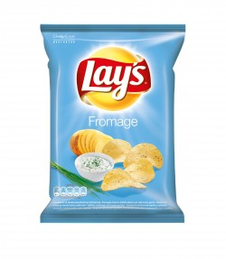 Lays Chips 220г со сметаной