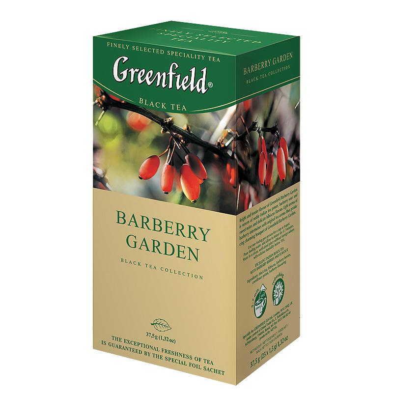 GREENFIELD Happomarja Garden Indian musta tee 25 x 1,5 g